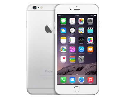 Apple iPhone 6 Plus 64GB Srebny