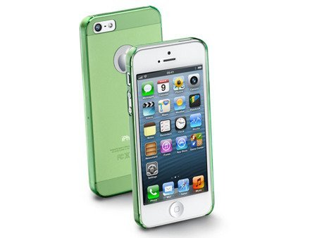 Etui ICE do iPhone 5/5S zielone