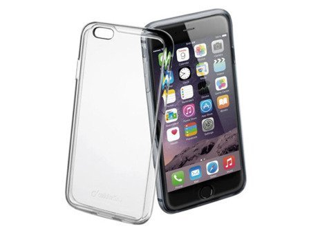Etui Invisible Clear Duo do iPhone 6 Plus Przezroczyste + folia gratis