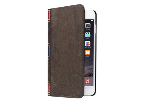 Twelve South BookBook - etui do iPhone 6 Plus (wersja brązowa)
