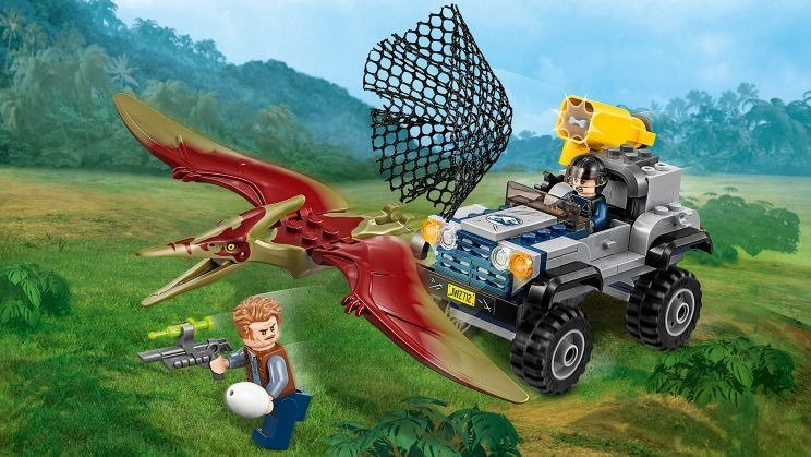 Klocki Lego Jurassic World Pościg Za Pteranodonem 75926 Zabawki