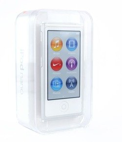 Apple iPod nano 16GB MD480 srebrny